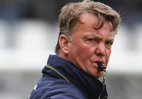 """Луи ван Гал раскритиковал игру """"Манчестер Юнайтед"""""""