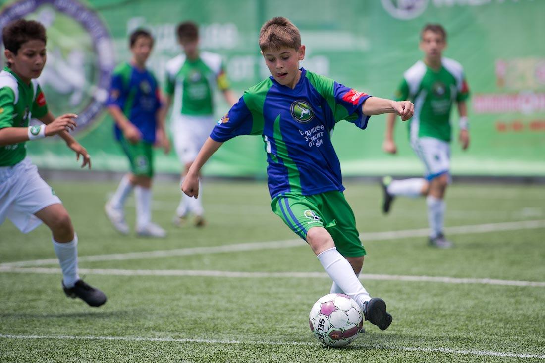 Что дает детский футбол для развития ребенка