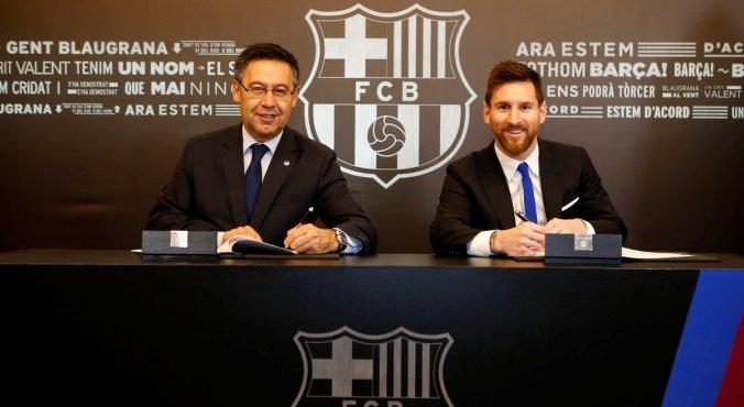 Фантастическая зарплата Месси в «Барселоне»