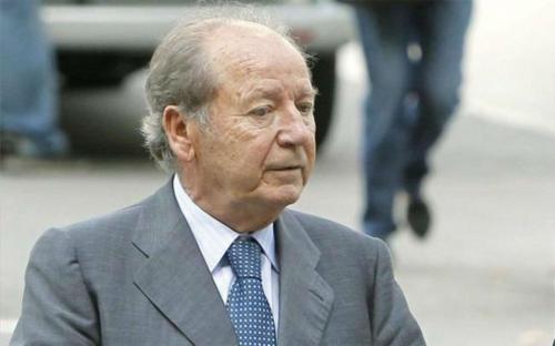 """Умер бывший президент """"Барселоны"""" Хосе Луис Нуньес"""