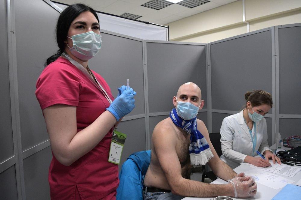 Московский ФК обратились к Собянину с просьбой открыть прививочные пункты на стадионах