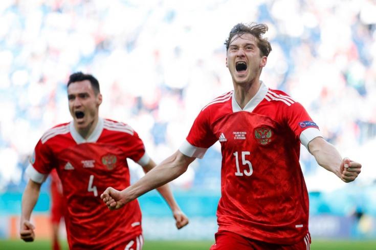 Сегодня в 22:00 мск Россия сыграет с Данией